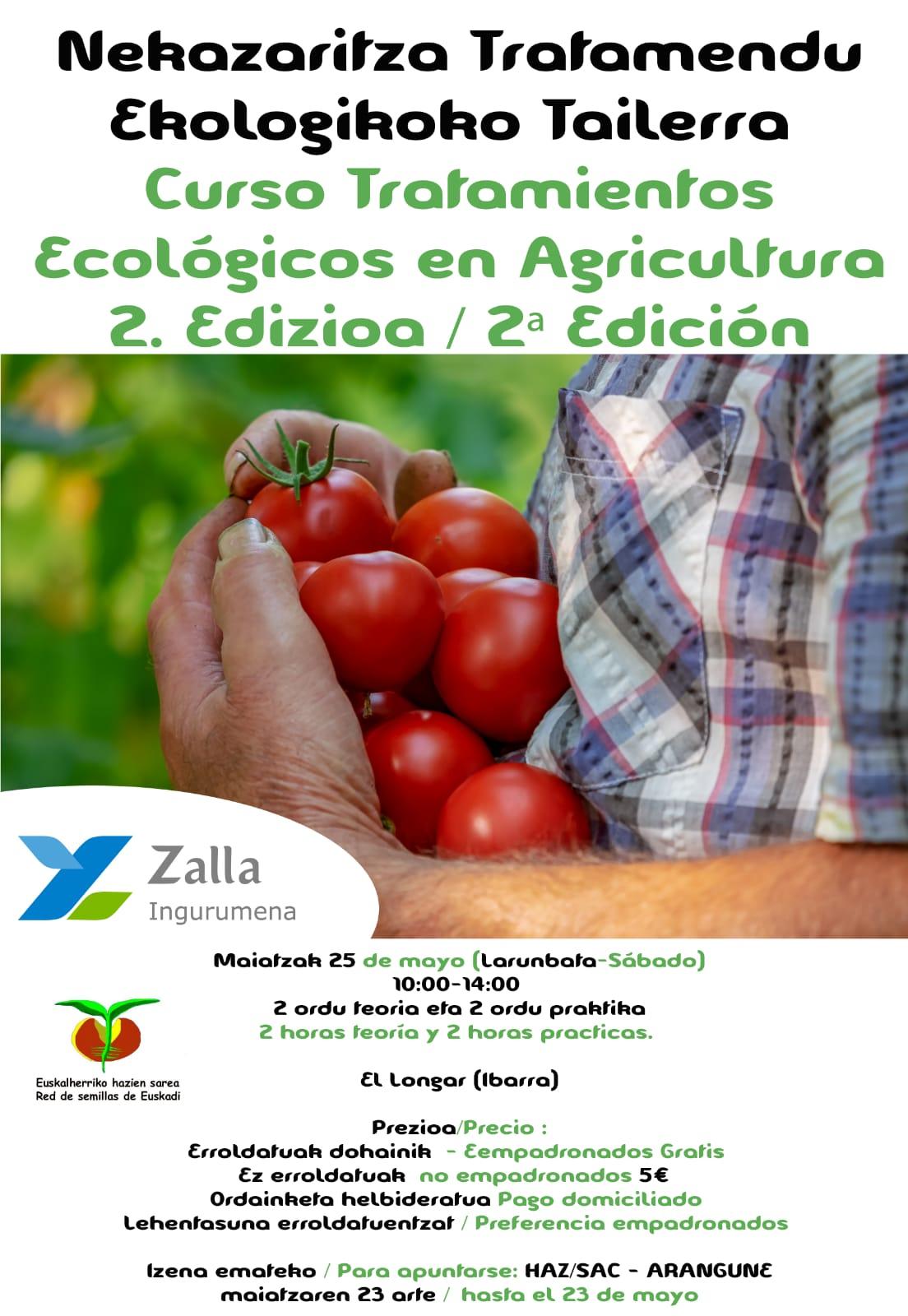 Curso de Tratamientos Ecológicos en Agricultura