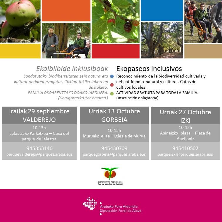 Ecopaseos inclusivos
