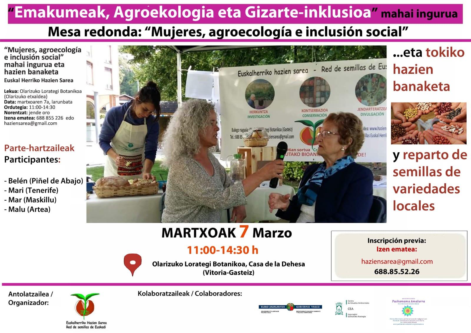 Mujeres, Agroecología e inclusión social