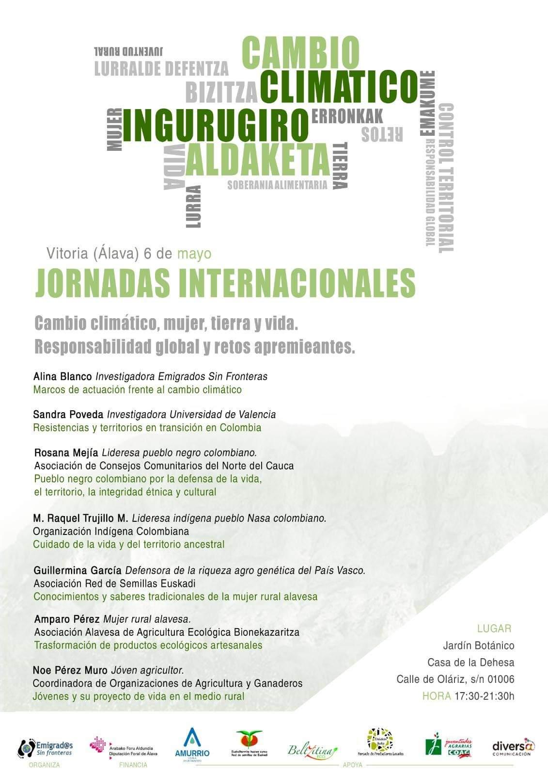 Jornadas Internacionales sobre el cambio climático