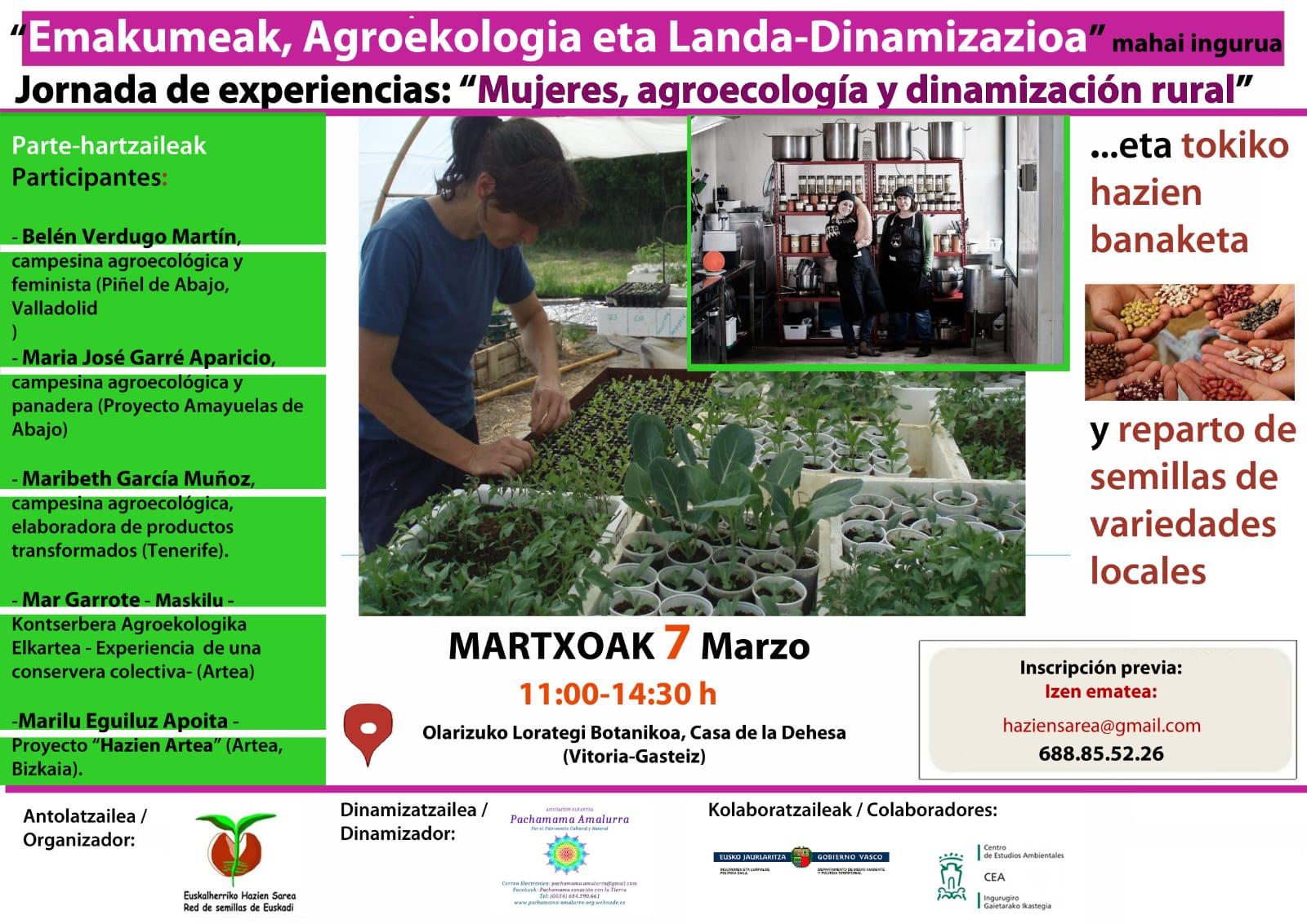 Mujeres, Agroecologia y dinamización rural
