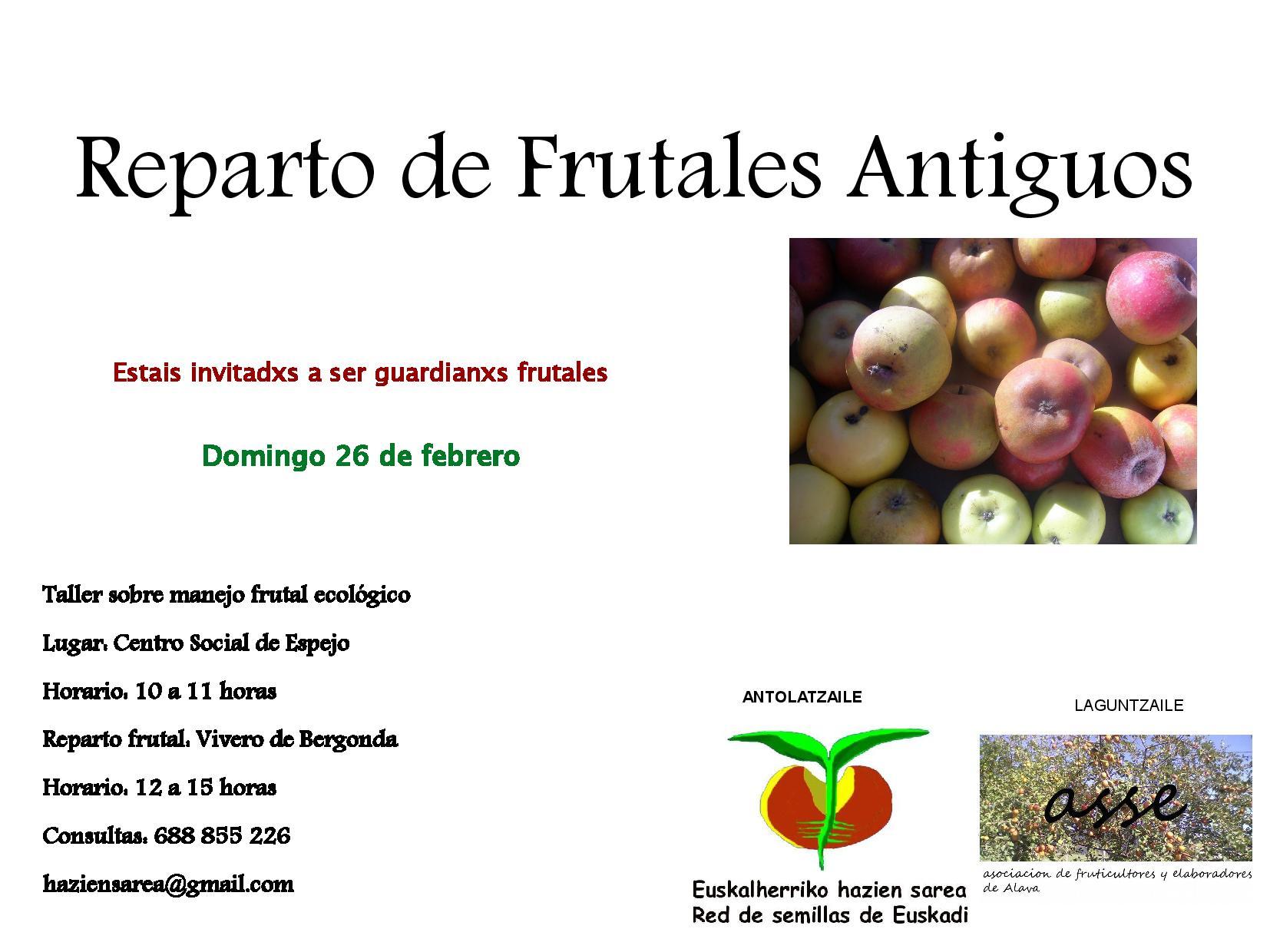 Reparto de Frutales Antiguos